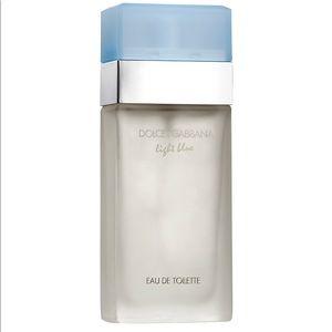 🆕. DOLCE&GABBANA Light Blue Eau de Toilette Spray